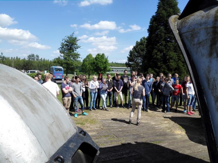 Exkursion zum Braunkohletagebau Garzweiler mit der Jahrgangsstufe EF